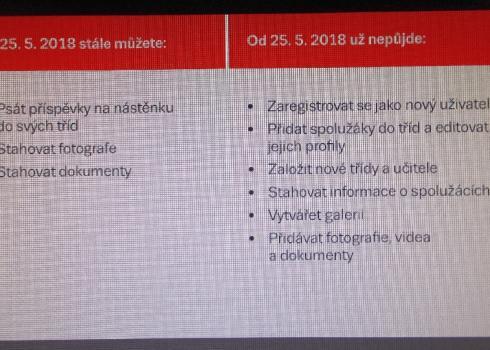 Wer sich bei Spolužáci.cz einloggt, kann noch bis August seine alten Daten herunterladen. Dann ist endgültig Schluss!