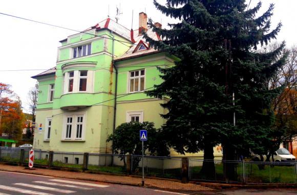Das Haus Nr. 381 in Haindorf, in dem die Familie Kaufmann gelebt hat